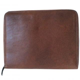 Brunello Cucinelli Leather Ipad Case Folio