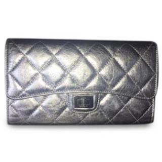 Chanel Reissue Silver Wallet
