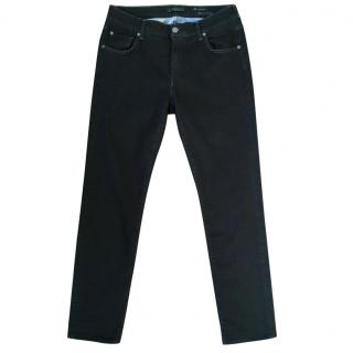 7 FOR ALL MANKIND 'the relaxed skinny' charcoal jeans