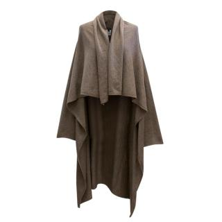 Joseph Brown Wool Waterfall Cardigan