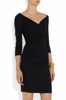 Bentley ruched stretch-jersey mini dress
