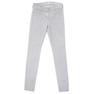 7 For All Mankind Grey Skinny Jeans