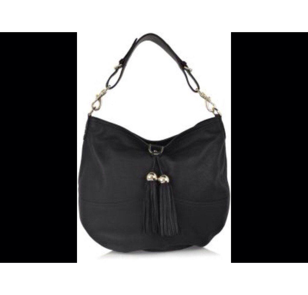 Mulberry Black Greta Large Leather Bag  1a385e41544a9