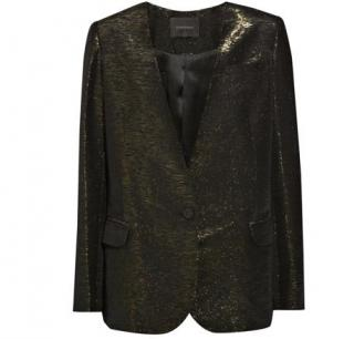 Poltock & Walsk Silk Blend Metallic Jacket