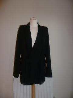 Vanessa Bruno Wrap-Over Wool Blend Blazer