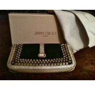 Jimmy Choo Black and Gold Studded Purse Brand New