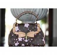 Limted Edition Louis Vuitton Murakami Cherry Blossom Sac Retro Handbag