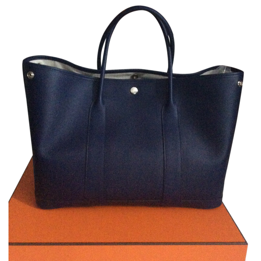 Hermes Garden Party 36 Epsom Blue Sapphire   HEWI London 705718bf2d1