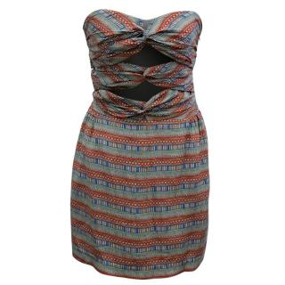 Mara Hoffman Patterned Strapless Dress