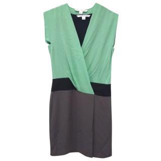 Diane von Furtensburg wrap-front dress