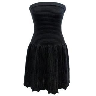 Sandro Black Strapless Dress