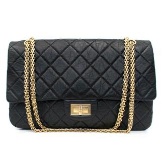 Chanel 2.55 Reissue Black Double Flap Bag