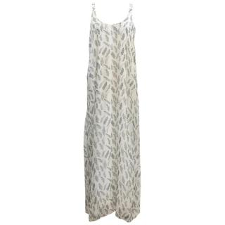 Anine Bing Feather Maxi Dress