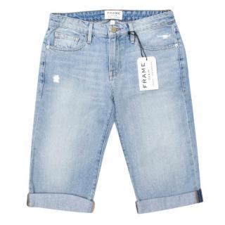 FRAME denim long Bermuda shorts
