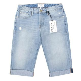 FRAME denim long Bermuda shorts