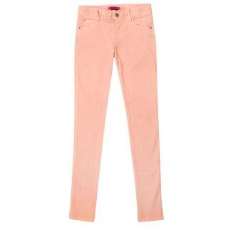Alice + Olivia Pale Pink Skinny Jeans