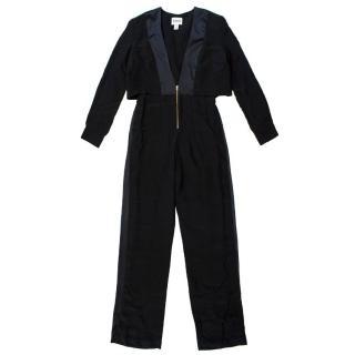 Issa Black Long Jumpsuit