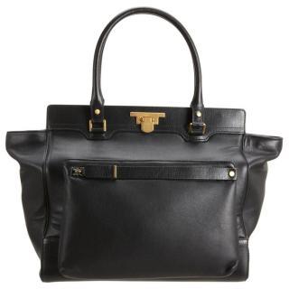 Lanvin Miss Sartorial Leather Shopper with Detachable Bag