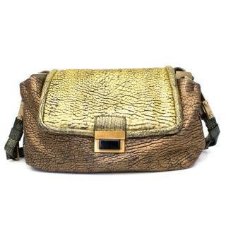 Lanvin Gold Shoulder Bag