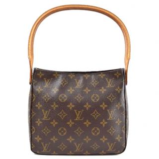 Louis Vuitton  Looping M51146 Brown Monogram Tote Bag
