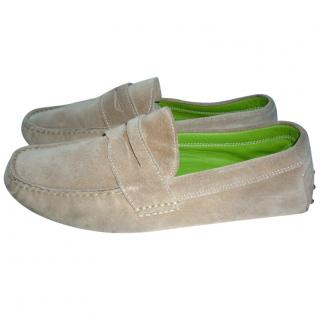 Ralph Lauren suede loafers driving shoes