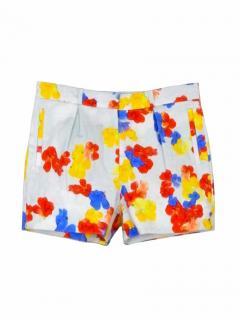 Erdem floral multicolour shorts