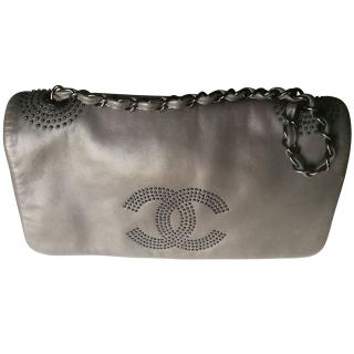 Chanel studded shoulder bag