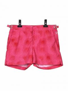 Orlebar Brown Setter pink printed swim shorts