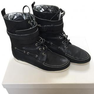 Balenciaga by Nicolas Ghesquiere leather boots