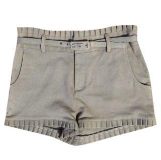 Catherine Malandrino frill shorts