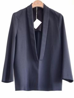 Brunello Cucinelli navy wool jacket