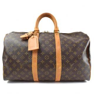Louis Vuitton Keepall 45 Boston Bag