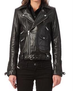 Iro Scotsdal Black Leather Jacket