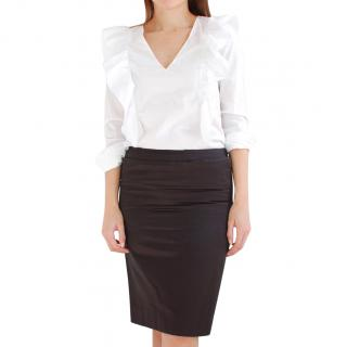 YSL Elegant Pencil Skirt