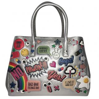 Anya Hindmarch Ebury All Over Stickers Tote