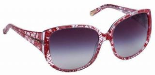 DOLCE AND GABBANA RED LACE DG4116 sunglasses