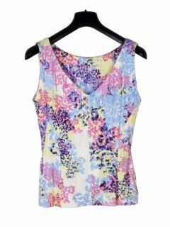 Erdem floral multicolour jersey