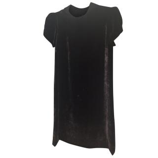 Claudia Peirlot Black Velvet Dress