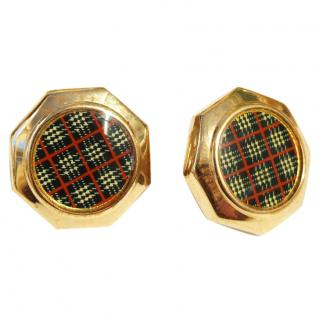 Burberry vintage earrings