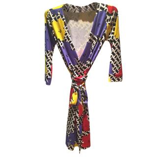 Diane Von Furstenburg Dress Andy Warhol Collection