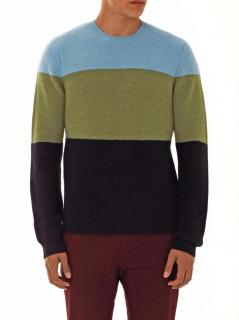 Jonathan Saunders Men's Green Jumper
