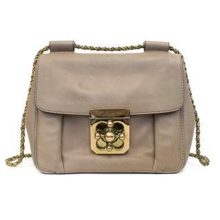 Chloe Beige Elise Cross-Body Bag