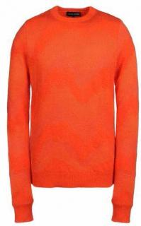 Jonathan Saunders Orange Crewneck Jumper