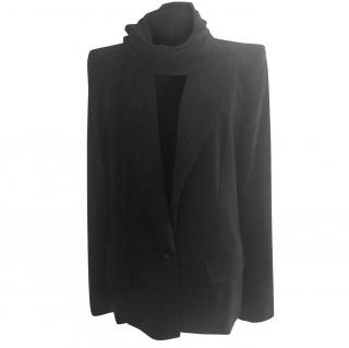 Galliano black tailored jacket