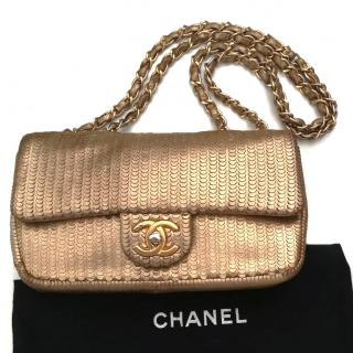 Chanel Exceptional Pieces Flap Bag Gold Limited Edition