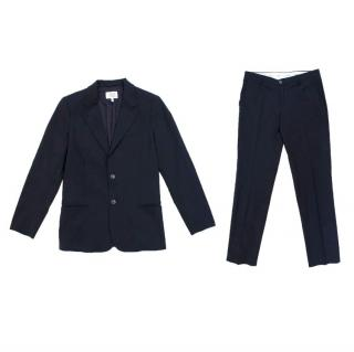 Armani Navy Boys Suit