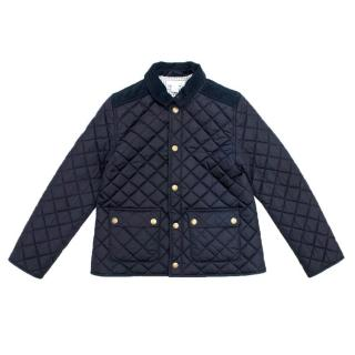 Marie Chantal Boy's Navy Riding Jacket