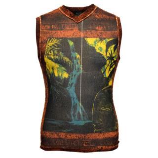Jean Paul Gaultier Men's Patterned Vest