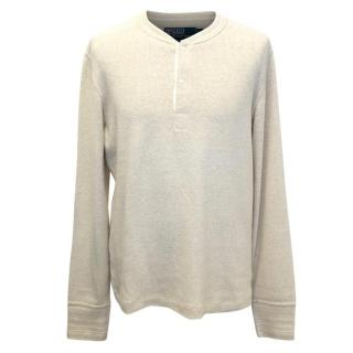 Polo By Ralph Lauren Men's Beige Jumper