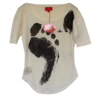 Vivienne Westwood Footprint T Shirt